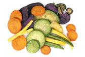 Vegetable Crisps Healthy Snack — Stock Photo