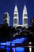 Petronas Towers Kuala Lumpur — Stock Photo