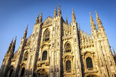 Milan Cathedral at Sunset — Stock Photo