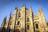 Milan Cathedral at Sunset — Stock Photo