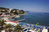 Santa Margherita Ligure, Italian Reviera — Stockfoto