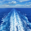 Ocean Wake from Cruise Ship — Stock Photo #50092407