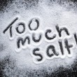 Too Much Salt — Stock Photo #51201937