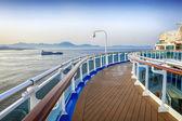 Cruise Ship Deck — Stock Photo