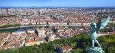 Panorama of Lyon France — Stock Photo