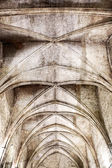 Grunge Gothic Ceiling — Stock Photo