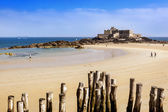 Fort National Saint Malo France — Foto de Stock
