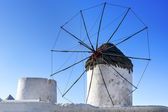 Mykonos Windmill — Stock Photo