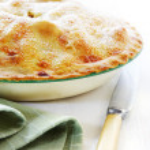 Home-baked Apple Pie — Stock Photo #5526266