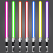 Lightsaber set — Stock Vector