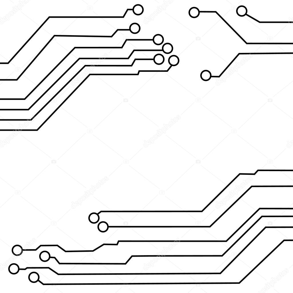 Circuit Vector Wallpaper Circuit Board Background