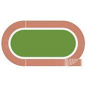 Olympic stadium — Stock Vector