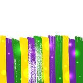 Grunge mardi gras background — Stock Vector