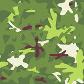Camouflage military background. Seamless pattern. — Stock vektor