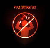 Geen stress — Stockvector