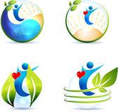 Healthy heart, lifestyle — Stock Vector