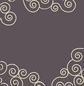 Swirly wallpaper — Stock Vector