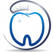 Teeth care symbol — Stock Vector