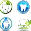 Tooth symbols — Stock Vector #33343005