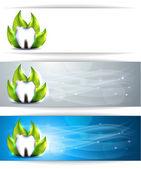 Dental banners — Stock Vector
