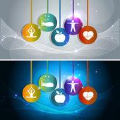 Health care concept — Stock Vector