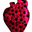 Vector de stock : Unhealthy heart