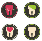 Tooth illustration — Vetorial Stock