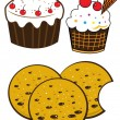 Bakery set — Stock Vector #30570211
