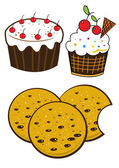 Bakery set — Vector de stock