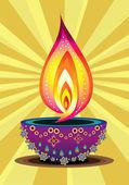 Ikony indyjski nowy rok — Wektor stockowy