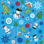 Retro Christmas Element — Stock Vector #50846473