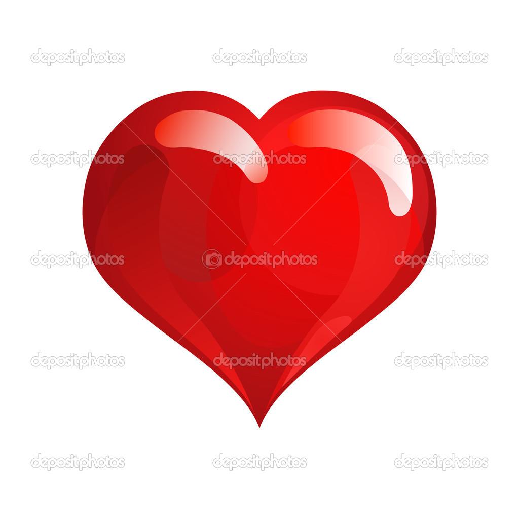 Red Love Heart Symbol Facebook Mac