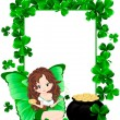 Greeting Card to St. Patrick's Day — Stock Vector