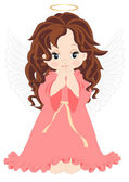 Little angel — Stock Vector