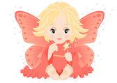 Magical fairy — Stock Vector