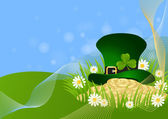 Greeting Card St. Patrick's Day — Stockvektor