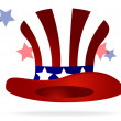 American top hat - Image vectorielle
