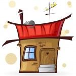 Cartoon house — Stock Vector #26871947