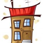 Cartoon house — Stock Vector #27196403