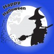 Greeting card for Halloween — Stock Vector #30033459