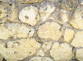 стена из камушка — Стоковое фото