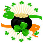 Greeting Card St. Patrick's Day — Stock Vector