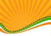 Tarjeta de felicitación st. el día de patrick — Vector de stock