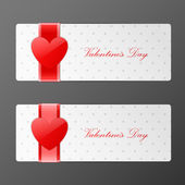 Bright Valentines day labels — Vetorial Stock