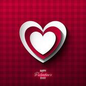Bright Valentines day background — Vecteur