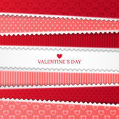 Bright Valentines day card — Stock Vector