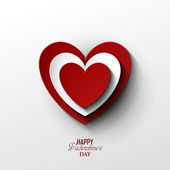 Bright Valentines day background — Vector de stock