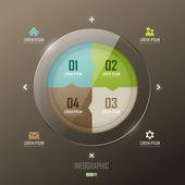 Infographic design — Stock vektor