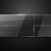 Webový panel — Stock vektor