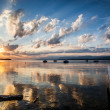 Lake Geneva Sunrise — Stock Photo